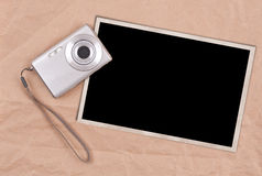 Photo frame concept Royalty Free Stock Photography