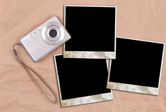 Photo frame concept Royalty Free Stock Photos