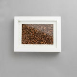 Photo frame full off coffee beans Royalty Free Stock Photography