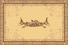 Photo Frame on Grungy Background Royalty Free Stock Photography