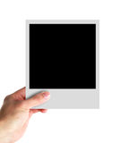 Photo Frame In Hand Royalty Free Stock Photography