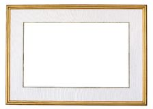Photo frame. Isolate on white background Stock Photography