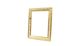 Photo frame isolated. On white background Royalty Free Stock Photography