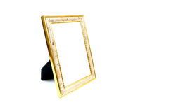 Photo frame isolated. On white background Royalty Free Stock Image