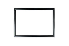 Photo frame isolated. On white background Stock Images