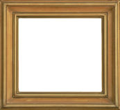 Photo Frame Isolated. Frame isolated very good to use for your photos and paintings royalty free stock photo