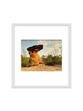 Photo frame isolated for decorate, interior, souvenir, gift, design royalty free stock photo