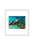 Photo frame isolated for decorate, interior, souvenir, gift, design royalty free stock photography