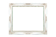 Photo frame isolated on white. Photo frame, isolated on white Royalty Free Stock Images