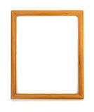 Photo frame isolated on white. Background Royalty Free Stock Images