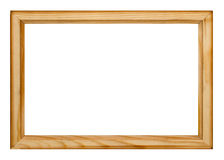 Photo frame isolated. On white background with clipping path Stock Photo