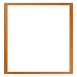 Photo frame isolated on white background with clipping path Royalty Free Stock Photo