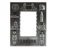Photo frame London souvenir Royalty Free Stock Image