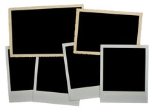 Photo Frame Of An Empty Photo Stock Photography