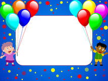 Photo Frame - Party Time [1] Royalty Free Stock Photography