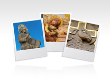 Photo frame religious Royalty Free Stock Images