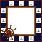 Photo frame Seafaring Royalty Free Stock Photos