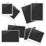 Photo frame set illustration Stock Photos