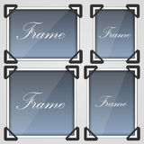 Photo frame set Royalty Free Stock Photo