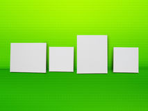 White canvas background Stock Images