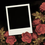 Photo frame Valentine's day Stock Images