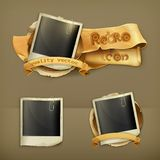 Photo frame vector icons Stock Photography