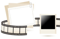 Photo frame, vector illustration Royalty Free Stock Photo