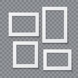 Photo frame vector realistic illustration Royalty Free Stock Image