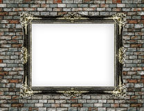 Photo frame on wall Royalty Free Stock Photo
