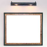 Photo frame on wall Stock Photos