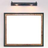 Photo frame on wall Stock Photos