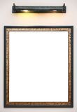 Photo frame on wall Stock Photography