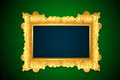 Photo Frame on Wall Royalty Free Stock Image
