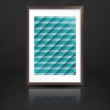 Photo Frame On The Wall Royalty Free Stock Images