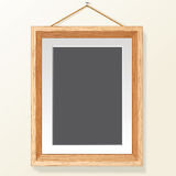 Photo Frame on Wall. Vector Image Royalty Free Stock Photos