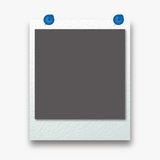 Photo frame  on white background. Vector illustration. Photo frame on the white background Royalty Free Stock Images