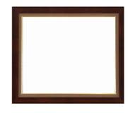 Photo frame on white background Stock Images