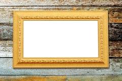 Photo frame on wood background Stock Photo