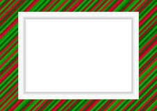 Photo frame - X-mas theme Royalty Free Stock Photos