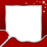Photo Frame Zipper Stock Photos