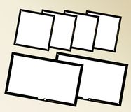 Photo frames, Royalty Free Stock Image