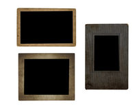 Photo frames. Very old paper Stock Images