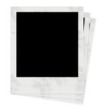 Photo Frames. 3 Polaroids Royalty Free Stock Photos
