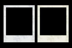 Photo Frames. 2 Polaroids Royalty Free Stock Photo