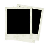 Photo Frames. 3 Polaroids Royalty Free Stock Photography