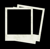 Photo Frames. 3 Polaroids Royalty Free Stock Photo