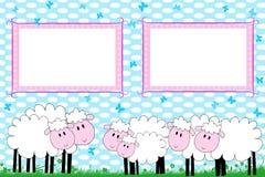 Photo  frames for children Stock Image