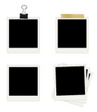 Photo Frames Collection Stock Images
