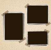 Photo frames composition Royalty Free Stock Photo