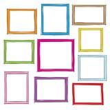 Photo frames. Doodle sketch, vector Royalty Free Stock Photos